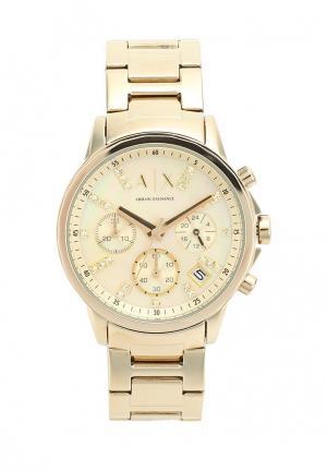 Часы Armani Exchange. Цвет: золотой