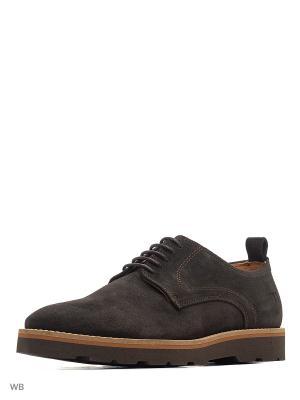 Ботинки Trussardi. Цвет: темно-коричневый