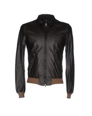 Куртка DACUTE. Цвет: темно-коричневый
