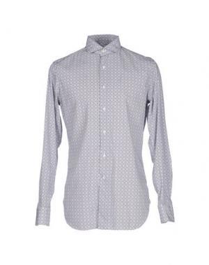 Pубашка ALESSANDRO GHERARDI. Цвет: пастельно-синий