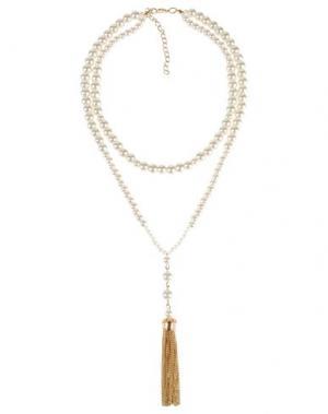 Ожерелье DETTAGLI. Цвет: слоновая кость