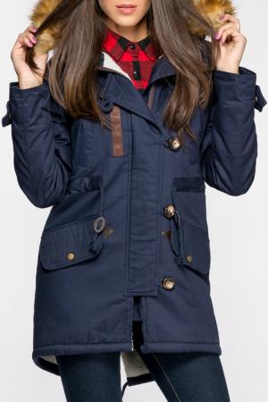 Куртка Joins. Цвет: синий