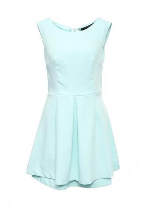 Платье Top Secret. Цвет: бирюзовый