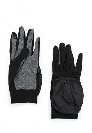 Перчатки беговые Li-Ning. Цвет: черный