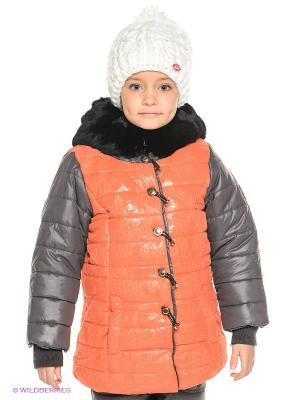 Куртка MES AMI. Цвет: оранжевый, черный, темно-серый