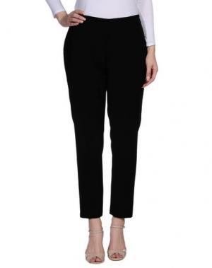 Повседневные брюки NIU'. Цвет: черный