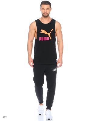 Майка спортивная Archive Logo Fashion Tank Puma. Цвет: черный