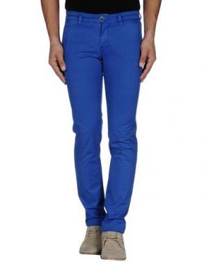 Повседневные брюки RE-HASH. Цвет: ярко-синий