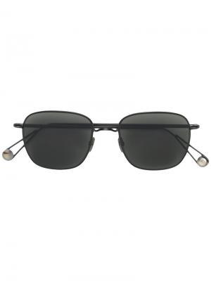 Квадратные солнцезащитные очки с затемненными линзами Ahlem. Цвет: чёрный