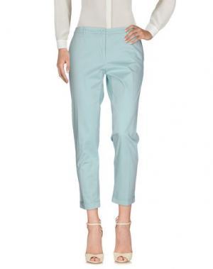 Повседневные брюки 19.70 NINETEEN SEVENTY. Цвет: бирюзовый