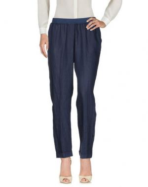 Повседневные брюки ROSSO35. Цвет: синий
