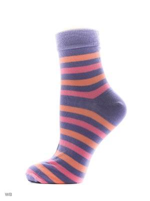 Носки (комплект 5 пар) Тульский трикотаж. Цвет: сиреневый