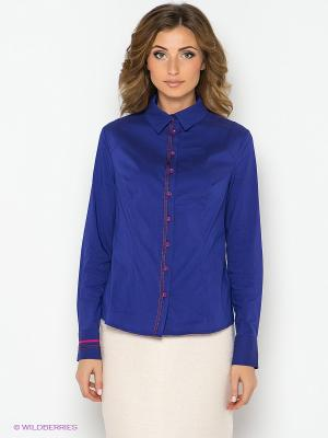 Блузка PELICAN. Цвет: индиго