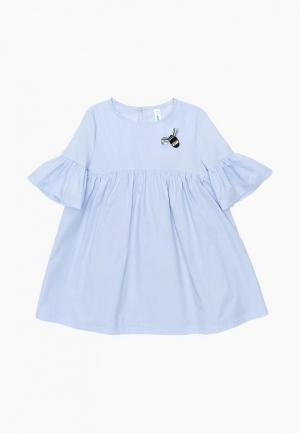 Платье Acoola. Цвет: голубой