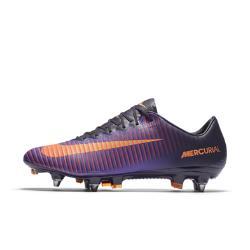 Футбольные бутсы для игры на мягком грунте  Mercurial Vapor XI SG-PRO Nike. Цвет: пурпурный