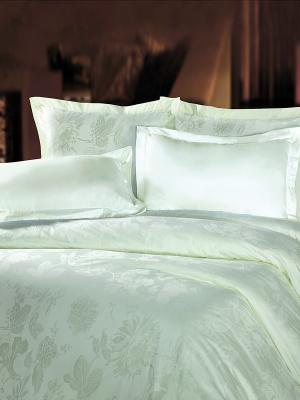Комплект постельного белья Mona Liza. Цвет: светло-зеленый