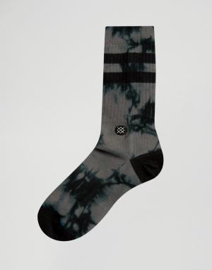 Stance Черные носки с эффектом тай-дай Daybreaker. Цвет: белый
