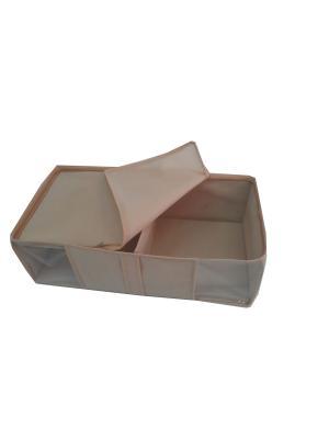 Ящик для вещей Камея. Цвет: черный