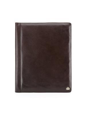 Деловая папка ARIZONA WITTCHEN. Цвет: коричневый