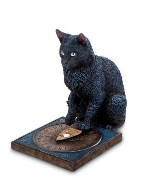 Статуэтка Кот-гадальщик Veronese. Цвет: черный, темно-синий