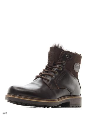 Ботинки DOCKERS.. Цвет: темно-коричневый