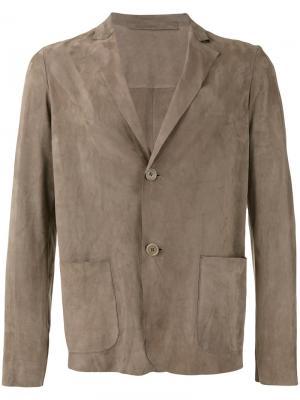 Куртка на пуговицах Salvatore Santoro. Цвет: телесный