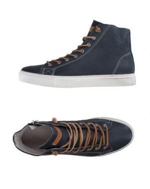 Высокие кеды и кроссовки STOKTON. Цвет: грифельно-синий