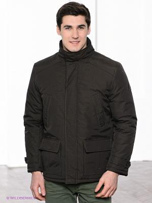 Куртка Navigare. Цвет: коричневый