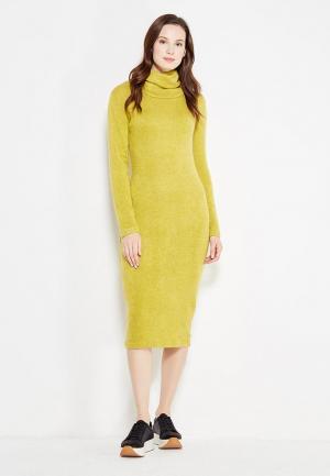 Платье SK House. Цвет: желтый
