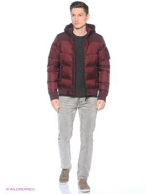 Куртка S.OLIVER. Цвет: бордовый