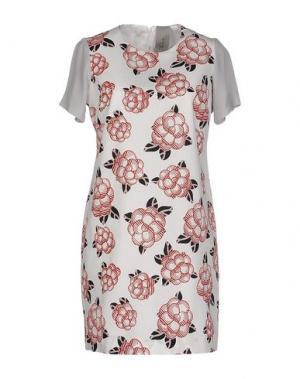 Короткое платье ALICE SAN DIEGO. Цвет: белый