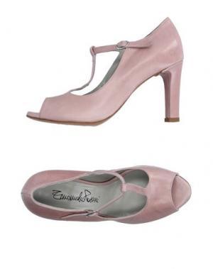 Туфли EMANUELA PASSERI. Цвет: розовый