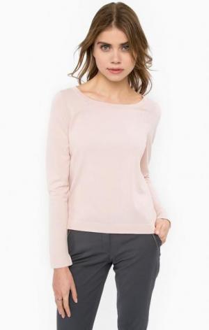 Розовый джемпер из вискозы MORE &. Цвет: розовый