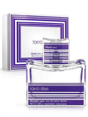 Tokyo Days, Парфюмерная вода, 40 мл MASAKI MATSUSHIMA. Цвет: прозрачный, фиолетовый
