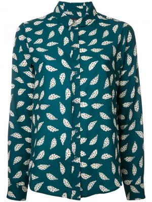 Рубашка Albert Maison Olga. Цвет: зелёный