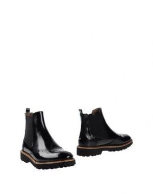 Полусапоги и высокие ботинки SILVIA ROSSI. Цвет: черный