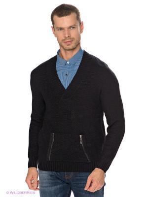 Пуловер TOM FARR. Цвет: черный