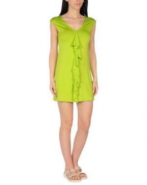 Пляжное платье MISS NAORY. Цвет: кислотно-зеленый