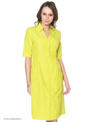 Платье Neohit. Цвет: салатовый