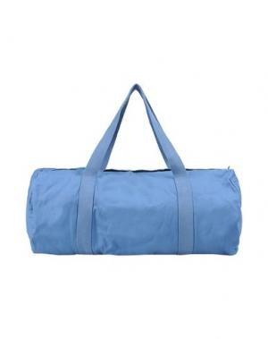 Дорожная сумка WEILI ZHENG. Цвет: пастельно-синий
