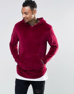 Kubban Велюровый свитер. Цвет: фиолетовый