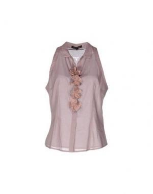 Pубашка WALTER VOULAZ. Цвет: розовато-лиловый