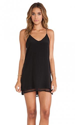 Мини платье tangled May.. Цвет: черный
