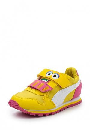 Кроссовки Puma. Цвет: желтый