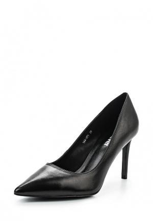 Туфли GLAMforever. Цвет: черный