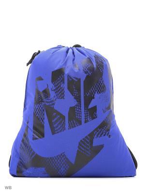 Рюкзак NIKE HERITAGE GYMSACK. Цвет: синий