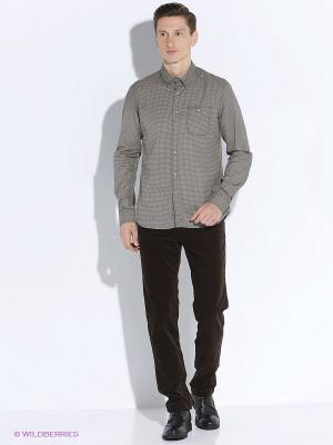 Рубашка GARCIA. Цвет: серый