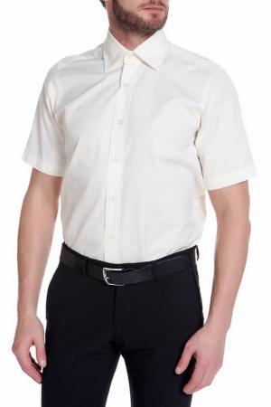 Рубашка, короткий рукав Christian Lacroix. Цвет: молочный