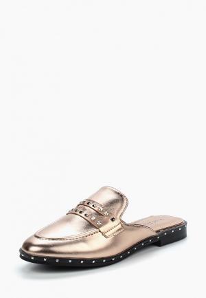 Сабо Sweet Shoes. Цвет: золотой