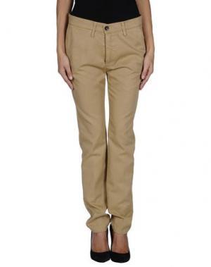 Повседневные брюки GOLD CASE. Цвет: песочный